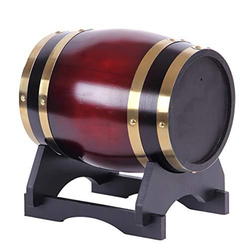 QRFDIAN Holzfass Eiche Weinfass 3L -50L Weißwein Rotwein Fass Hausdekoration Weinfass Eiche Bierfass (größe : 5L) -