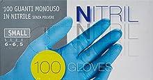 Guantes Nitrilo X 100 Pequeños Ico