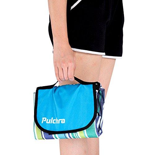 Pulchra Picknickdecke, Wasserdicht, Premium-Qualität (600D...