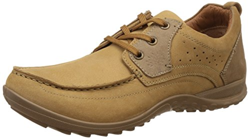 Woodland Men's Camel Leather Espadrille Flats - 10 UK/India (44 EU)  available at amazon for Rs.2037