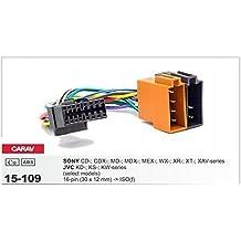 Carav 15-109Cable Adaptador ISO para Sony Radio de coche JVC