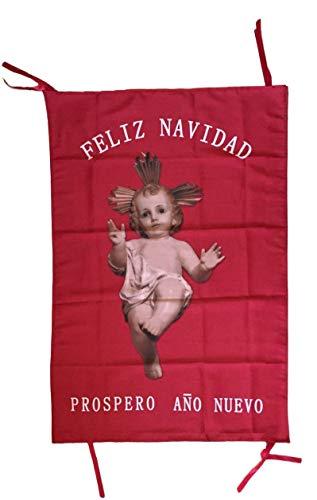 Durabol Bandera Dios Ha Nacido-Colgadura para Navidad del Niño Jesús 68 * 98 cm Flag