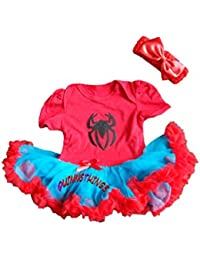 Spidergirl-Inspired Infant Tutu Outfit