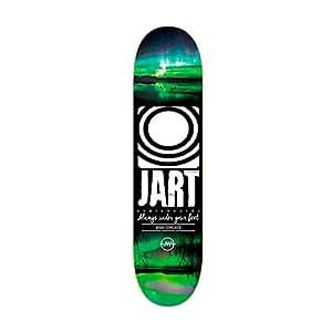 Jart Logo Night M0216 Skateboard deck 8,1