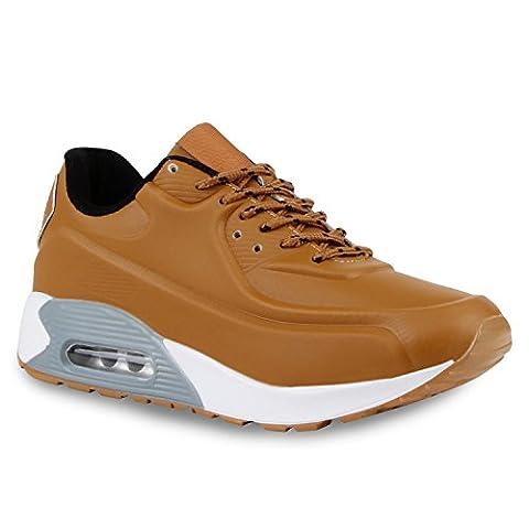 Damen Herren Unisex Sport Glitzer Lack Prints Zipper Neon Lauf Runners Trainers Übergrößen Schuhe 118270 Braun Grau Weiss 40 | (Luft Zipper)