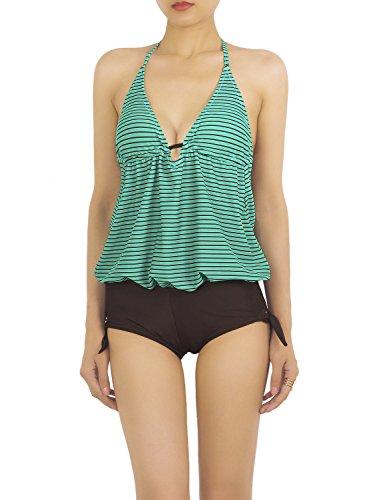 ib-ip-donna-manico-backless-capestro-stripe-tankin-mini-costume-da-bagno-intero-dimensioni-m-polvero