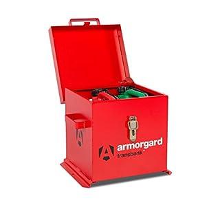 Armorgard TRB1 Transbank Chemical Storage Van Cabinet 350 x 350 x 300mm