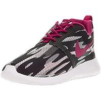 Nike bambini Rosherun Flight Weight GS, nero/white-wolf grey-pure Platinum