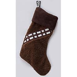 Calza di Natale Chewbecca star wars calza della befana per il Millenium Falcon con Han Solo e Wookie calza di natale guerre stellari per il caminetto e i regali di babbo natale con licenza ufficiale di star wars