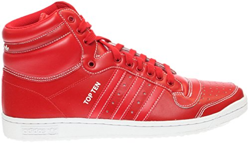 Adidas Mens Top Ten Salut Scarlet SCARLE/SCARLE/SCARLE