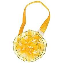 Ladud CWXQ-04 Blumen-Halsband für Hunde (gelb), Unisex, Zitrone, Einheitsgröße