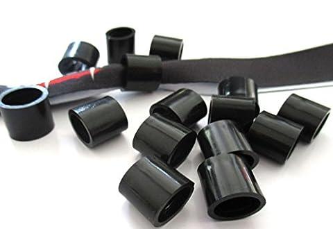 Plastik – Hülsen/Plomben für gewebte / bedruckte Stoff – Einlassbänder / Eintrittsbänder - 10