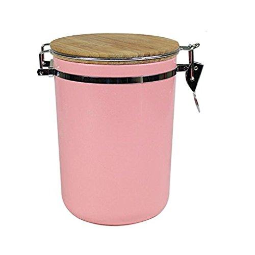 Simzu Kaffee- & Teedosen für 1kg Kaffee, Tee, Nüsse oder Getreide, 100% Bambusfaser,...
