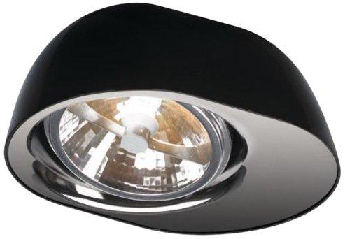 Philips 5713030li Doloq Platte/Spirale schwarz 1x 35W 12V