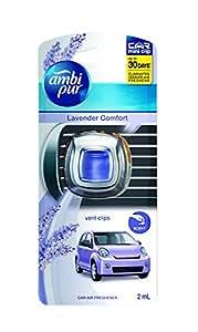 Ambi Pur Lavender Comfort Mini Vent Clip Air Freshener (2 ml)