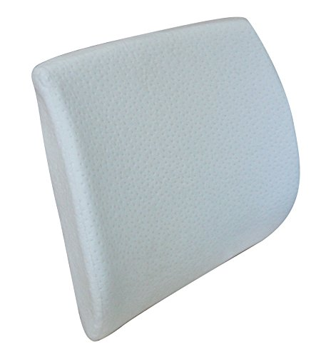 Pikolin Home - Almohada viscoelástica lumbar, con funda lavable, firmeza alta, 34 x 39 cm, altura 10 cm