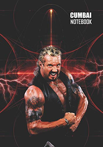 Notebook: Diamond Dallas Page  Medium College Ruled Notebook 129 pages Lined 7 x 10 in (17.78 x 25.4 cm)