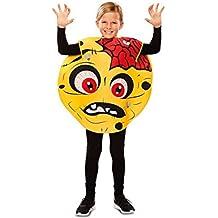 Disfraz de Emoticono Zombie para niños
