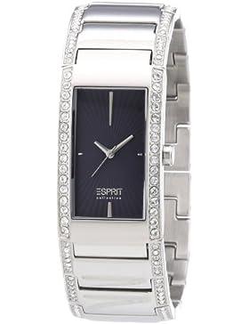 Esprit Damen-Armbanduhr Karpo anthracite Analog Quarz Edelstahl EL102002F02