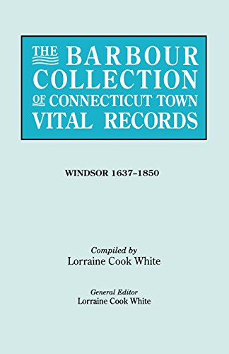 The Barbour Collection of Connecticut Town Vital Records [Vol. 55]