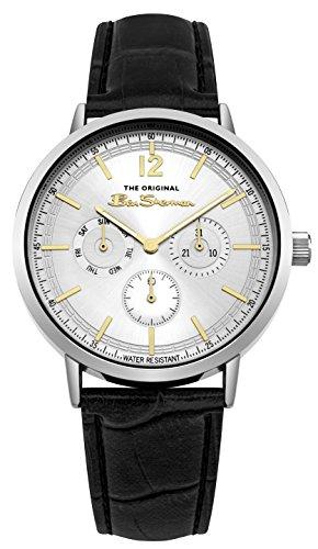 Ben Sherman Reloj Análogo clásico para Hombre de Cuarzo con Correa en PU BS011WB
