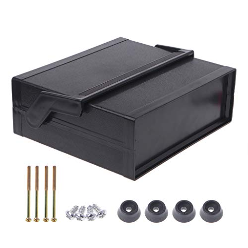 JOYKK Caja de Proyecto de Caja electrónica de plástico Impermeable Negro
