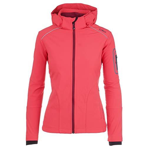 CMP Campagnolo Damen Softshell Jacke Sondermodel Franceska by pignolo-su, pink, M/40 -