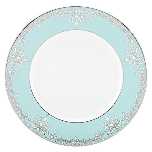 Lenox Marchesa Empire Pearl Dinner Plate, Turquoise Lenox Marchesa Empire Pearl