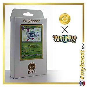 Efflèche (Dartrix) SV3/SV94 Variocolor - #myboost X Soleil & Lune 11.5 Destinées Occultes - Box de 10 cartas Pokémon Francés