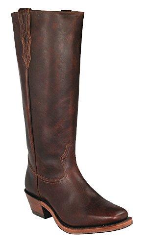 Stiefel amerikanischen-Stiefel de TIR im Gewehr bo-4004-64-e (Fuß Normal)-Herren-Braun, Braun - braun - Größe: 46 (Männer Boots Boulet Western)