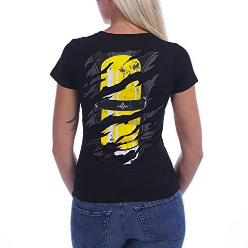 Einsatzkraft® Inside | Frauen T-Shirt Black, Größe:L (Tag T-shirt Jersey Fine)