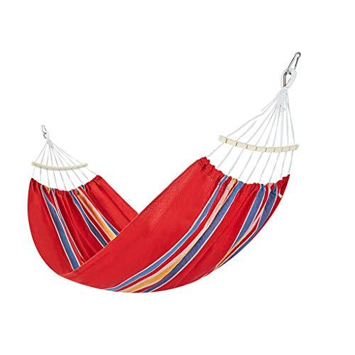 XUANLAN Hamac Jardin Balançoire Lit Portable Camping en Plein Air Jardin  Suspendus Chaise Hamac De Couchage (Color : F, Taille : 2 * 1 5M)