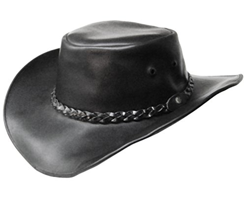 modestone-unisex-leather-sombrero-vaquero-black