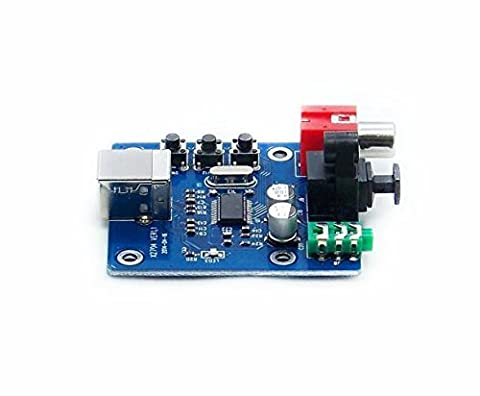 WINGONEER PCM2704 sortie analogique coaxial à fibre optique de puissance USB DAC USB sz-11 Raspberry Pi Raspbian RaspBMC