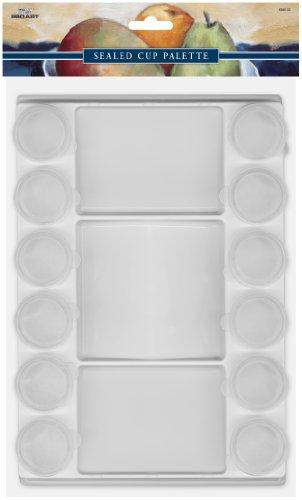Pro-Art Sealed Cup Palette Versiegelte Becher, Palette (Versiegelt Palette)