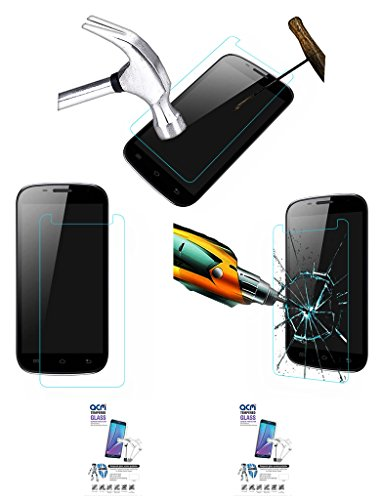 Acm Pack Of 2 Tempered Glass Screenguard For Karbonn Smart A26 Mobile Screen Guard Scratch Protector  available at amazon for Rs.229