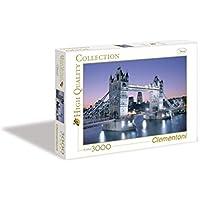 Clementoni - Puzzle 3000 piezas Tower Bridge London (33527)