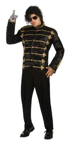 Michael Kostüme Alle Jackson (Michael Jackson Military jacket - Adult Fancy Dress Costume by RUBIES)