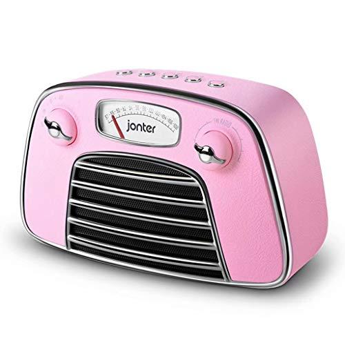 PM Drahtloser Bluetooth Lautsprecher Tragbarer Drahtloser Bluetooth Lautsprecher Retro Radio Extra Lang Play Subwoofer