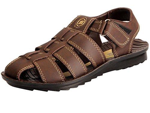 Bata 861-4445-41 Brown Sandals