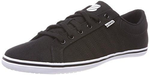 K-Swiss Herren Hof IV T VNZ Sneaker, Schwarz (Black/White/Black 050), 42 EU