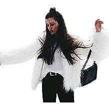 Navidad Mujeres Zorro de la piel del faux abrigo con pelo ,Yannerr invierno acolchado gruesa caliente chaqueta sudadera manga larga top jersey capa parka outwear cardigan traje ropa