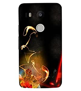 ColourCraft Printed Design Back Case Cover for LG GOOGLE NEXUS 5X