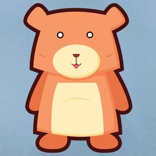 Cute Bear - Herren T-Shirt - 13 Farben Himmelblau
