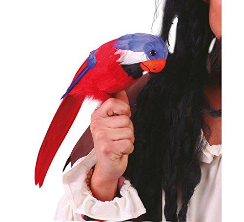 Guirca Fiestas GUI18248 - Papagei, 40 cm