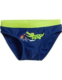 Playshoes UV-Schutz Badehose Krokodil, Bañador para Niños