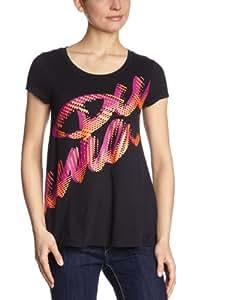 Puma Damen T-Shirt Pumascript Best II, black, S, 821724 01,