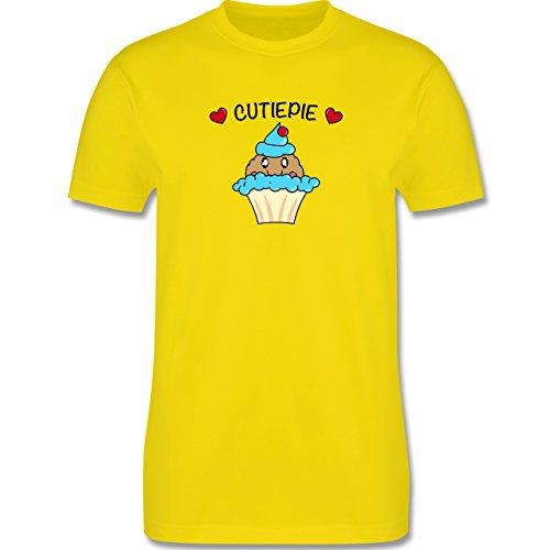 Comic Shirts - Cutiepie - Herren Premium T-Shirt Lemon Gelb