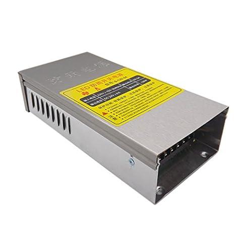 E-simpo 2-pièces 24V DC LED Power Supply, 60W-250W 220V AC Entrée Interrupteur d'alimentation modèle, adaptateur d'alimentation d'éclairage à LED, LED, imperméable extérieur Alimentation