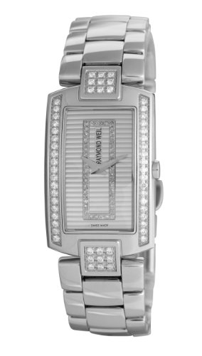 Raymond Weil Watches Shine 1800-ST2-42381 - Reloj analógico de cuarzo para mujer, correa de acero inoxidable multicolor